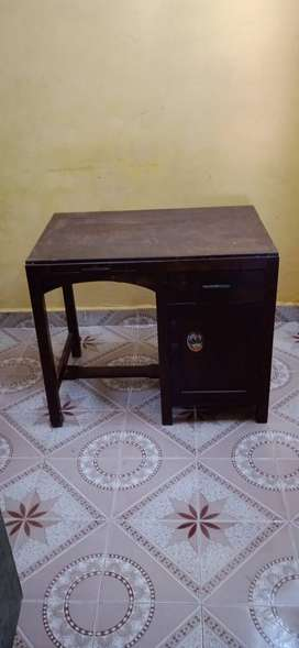 Rosewood Antique Study/Work Table and Chair