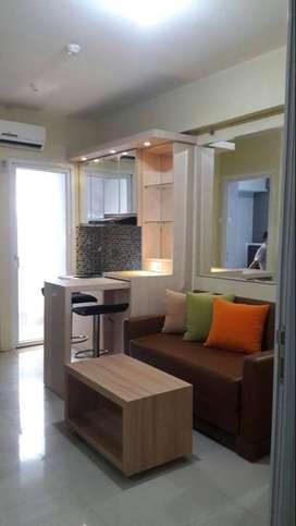 Sewa Unit Harian Type 2BR Mewah Apartemen Green Pramuka City Jakarta