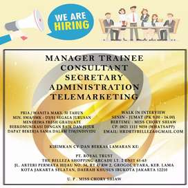 Manager Trainee