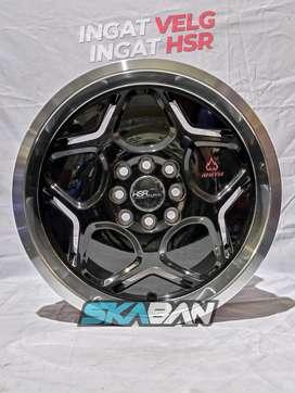 hsr wheel myth04 ring 16x7/8 utk mobil sigra,calya,swift,avanza