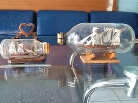 Paket Pajangan Kapal dalam Botol