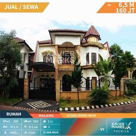Dijual/ disewakan rumah klasik di Istana Dieng Raya Malang