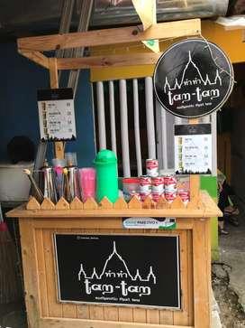 Gerobak/Booth Thai Tea