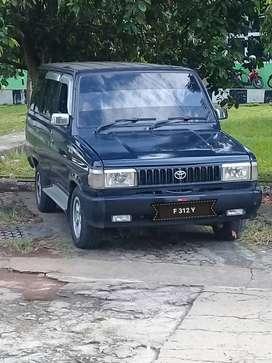 Dijual kijang super tahun 1994 standar 4 speed. Plat palembang kota.