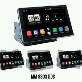 mtech mm8803dds android 10 inci universal