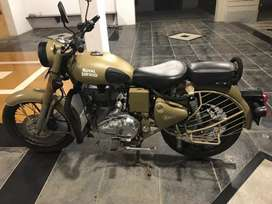 Royal Enfield Bullet Dessert Storm 500cc in very good condition