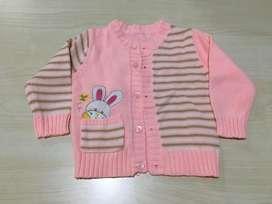 Jaket sweater bayi