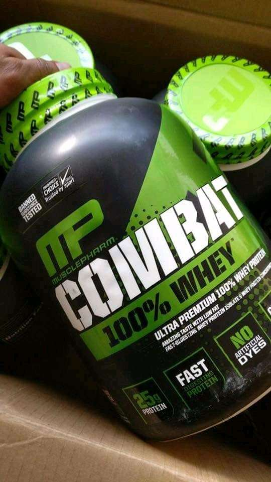 Suplemen Musclepharm Combat Whey 5lb Whey Protein Isolate Untuk Diet. 0