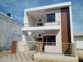 Fully furnished with wood work new kothi old sunny enclave