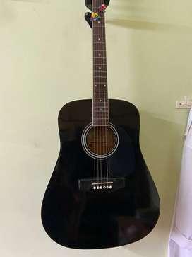 Guitar  1st owner black colour