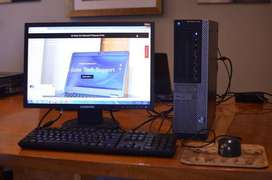 "Used Dell Core i5 2nd gen Full set computer Ram 4gb Hdd 500gb 17""Lcd W"