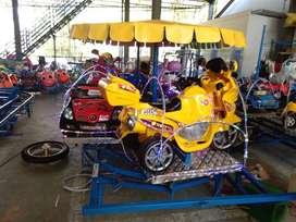 Odong kereta mini coaster pancingan panggung RAA