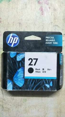 Hp 27 black sealed pack brand new