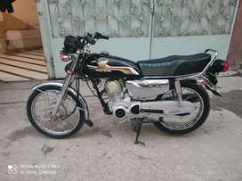 honda125 self start 2300 km used upgraded with 2020 14.5hp engine