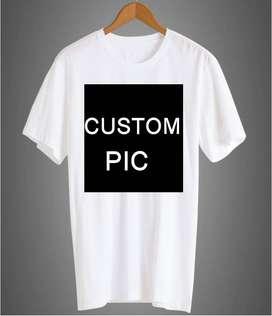 Custom Pic T-shirt