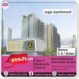 Apartement Mewah Yogyakarta Seharga Kos, 5Jtan / Bln, Tanpa DP