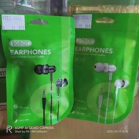 Headset Earphone 3.5MM ROBOT Extra Bass Berkualitas Xiaomi