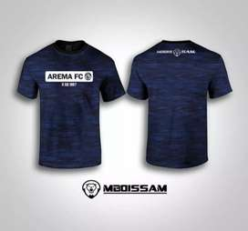 Kaos Arema FC Supporter Style