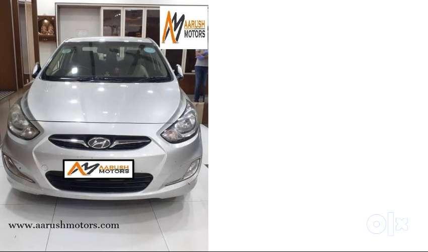 Hyundai Fluidic Verna 1.6 VTVT SX, 2013, Petrol 0