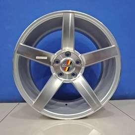 Cicil Velg Mobil Jetta Mercy DP 10% Ring 18 HSR NE3 H5X112 SMF