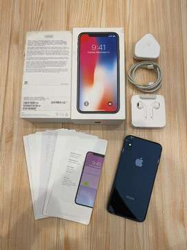 iPhone X 256gb Fullset Original Space Grey