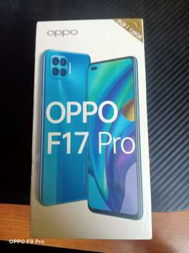 Brand New OPPO F17 Pro (Matte Black, 8GB RAM, 128GB Storage)