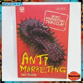 Buku Marketing Tergila Original Dari Kafi Kurnia   Anti Marketing