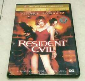 Kaset Film DVD Original Amerika Action/Thriller Resident Evil
