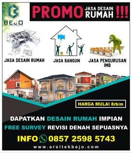 Promo Jasa Desain Rumah Free Survey