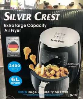 SILVERCREST AIR FRYER IMPORTED GERMANY CAPACITY 6 LITRE