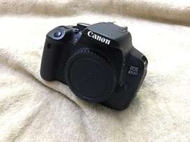 Canon 650d with Accessories