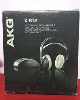 AKG K 912 auto tuning rechargeable wireless  headphones