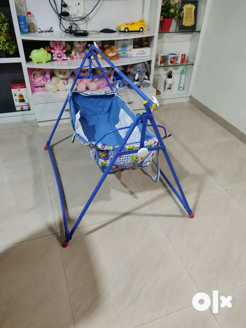 Baby Boy's and Girl's Portable Folding Swing Cradle