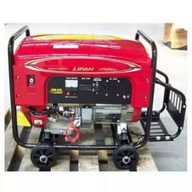 3.1 KW/4 KVA Brand New LIFAN Generators with battery gaskit delivery