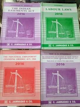 LLB 1st SEM Notes Mumbai University Labour Law by Jhabwala