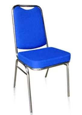 Kursi Susun Pipa Oval Sandaran Persegi New Star VTR-01 (Premium Chair)
