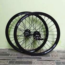 Wheelset 20 wheel set 20 velg 20 velg sepeda lipat minion minivelo