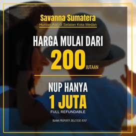 Rumah 200 Jutaan di selatan Kota Medan - Savanna Sumatera