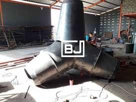 cetakan tetrapod pemecah ombak 6 ton
