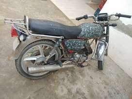 Hero Honda bike