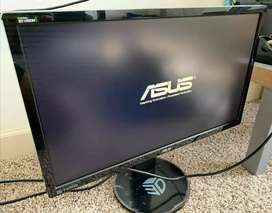 """Asus VG248 """"24 Inch"""" 144Hz 10/10 Condition With Complete Saman"""