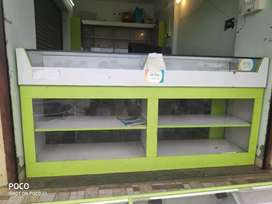 Medical furniture & glass counter