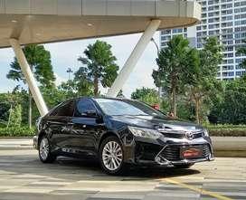 TDP 35 JUTA! Toyota Camry 2.5 V AT 2017 pjk 08-2022 km 53 ribu!!