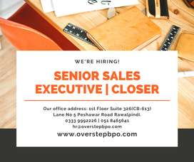 Senior Sales Executive / Closer