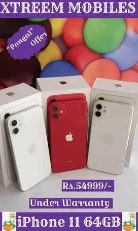 iPhone 11 64GB..Under Warranty..