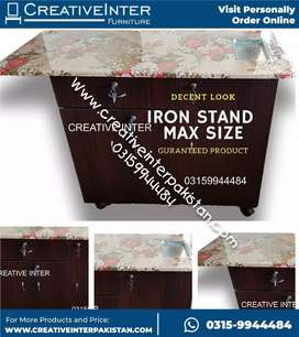 Iron stand istri stand incredible sofa cum bed Wardrobe center table