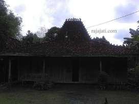 Rumah Joglo dan Limasan kayu jati kuno dari rumah kampung jawa asli