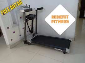 Treadmill elektrik 1MM motor 2Hp murah