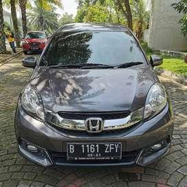 [DP25JT] Honda Mobilio E MT 2016 AC digital murah