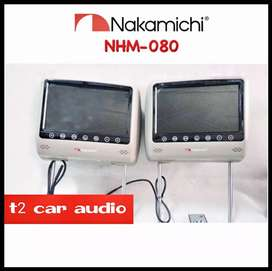 Terlaris monitor headrest NAKAMICHI japan 8inc full hd mumer gan